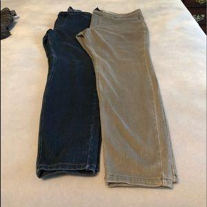 Hue jeans 2 pair